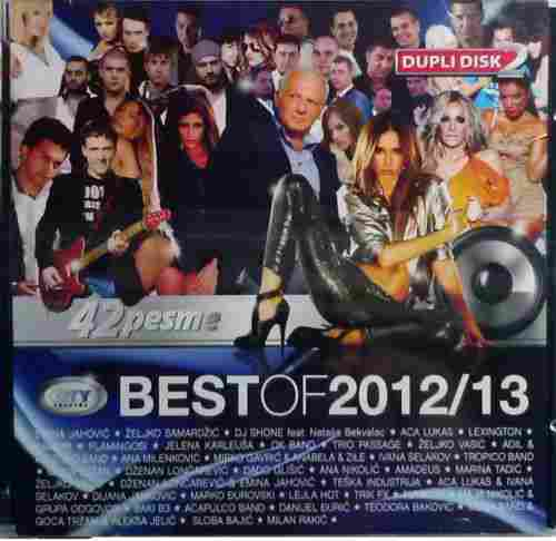2CD CITY BEST OF 2012/13 COMPILATION 2013 serbia bosnia croatia city records