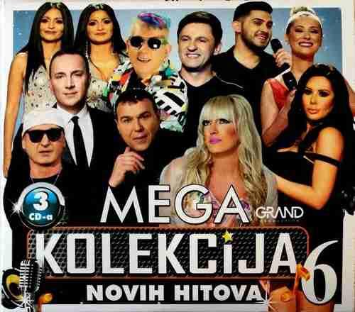 3CD MEGA KOLEKCIJA NOVIH HITOVA 6 GRAND MIKI MECAVA SEJO KALAC KOMPILACIJA 2018