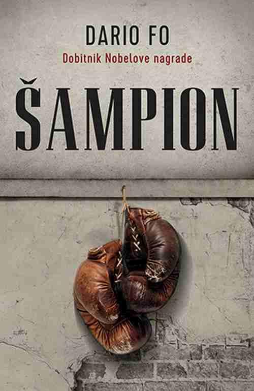 Sampion Dario Fo knjiga 2018 Istorijski Dobitnik Nobelove nagrade laguna