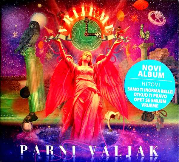 CD PARNI VALJAK VRIJEME ALBUM 2018