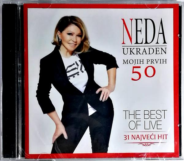 2CD NEDA UKRADEN MOJIH PRVIH 50 THE BEST OF LIVE 2019