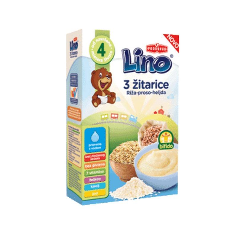 KAS INSTANT  LINO 3 ZITARICE 210GR