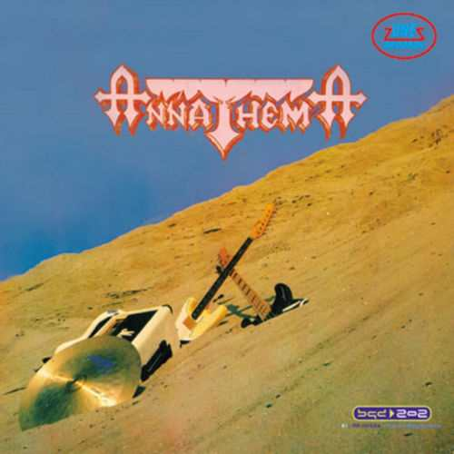 CD ANNATHEMA  ANNATHEMA album 1989 remastered 2012 Yugoslavia one records