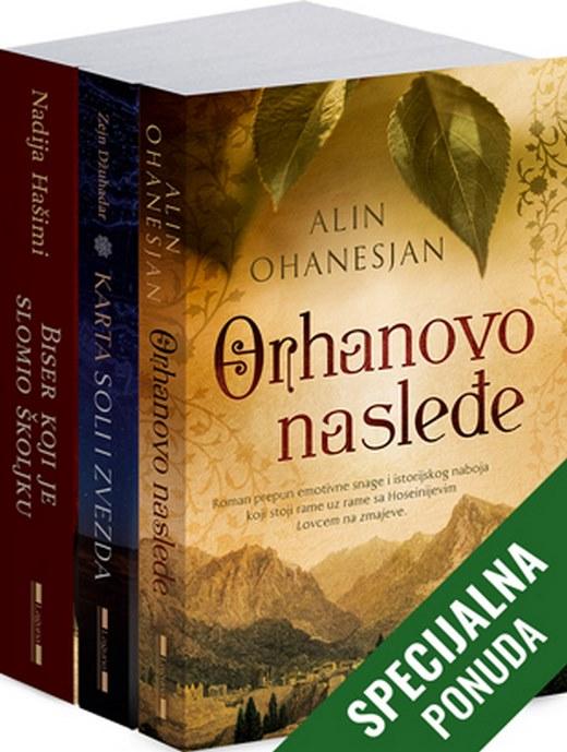 Komplet - Biseri za dusu  Alin Ohanesjan  knjiga 2020 Drama