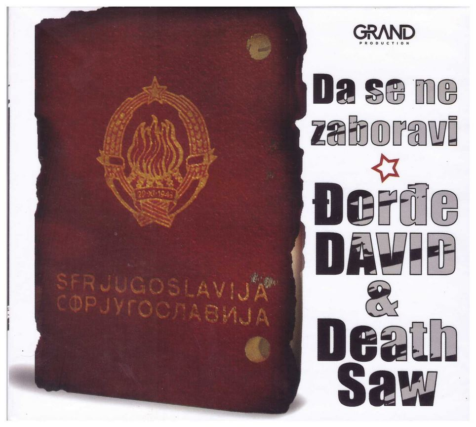 CD Djordje David & Death Saw - Da se ne zaboravi album 2020