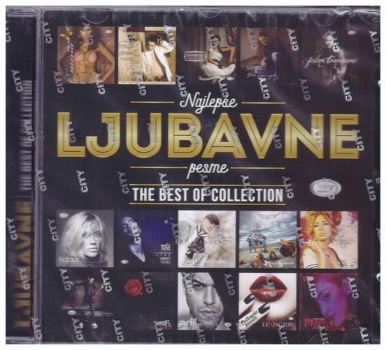 CD NAJLEPSE LJUBAVNE PESME - THE BEST OF COLLECTION KOMPILACIJA 2021