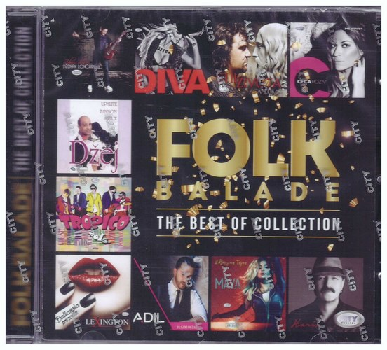 CD FOLK BALADE - THE BEST OF COLLECTION KOMPILACIJA 2020