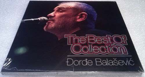 CD DJORDJE BALASEVIC THE BEST OF COLLECTION 2013 JUGOTON CROATIA RECORDS GOLD