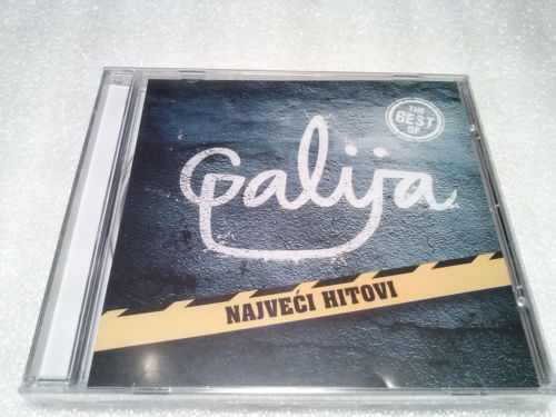 CD GALIJA  THE BEST OF remastered 2009 Serbian, Bosnian, Croatian, Serbia