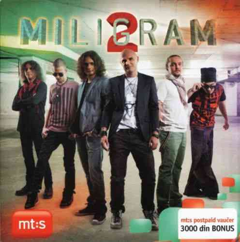 CD MILIGRAM 2  MILIGRAM 2 ALBUM 2012 Album