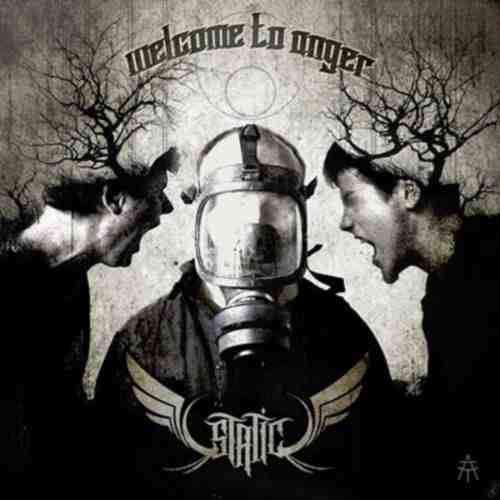 CD STATIC  WELCOME TO ANGER album 2015 heavy metal srbija hrvatska bosna balcan