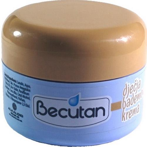 Original BECUTAN BABY CARE DJECIJA DECIJA BADEMOVA KREMA 50ml almond cream